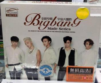 IMPORTED CD BIGBANG Made Series + Greatest-Hits 3C