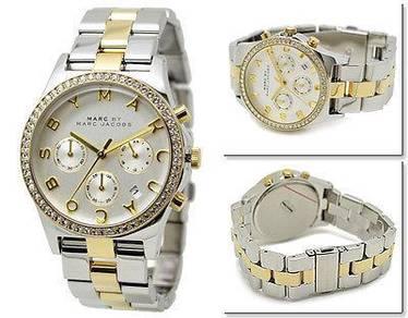 Women's Marc Jacobs Henry Glitz Crystallized Watch