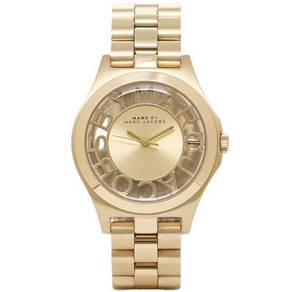 MARC JACOBS Henry Champagne Dial Gold-plate