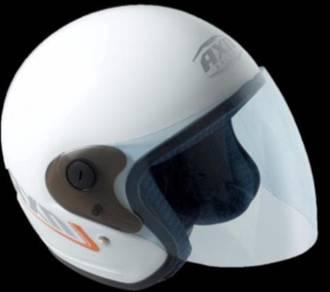 AXN Helmets (SIRIM) Open Face with Visor