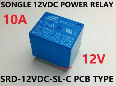 12V DC Relay SRD-12VDC-SL-C Arduino 5 pin SONGLE