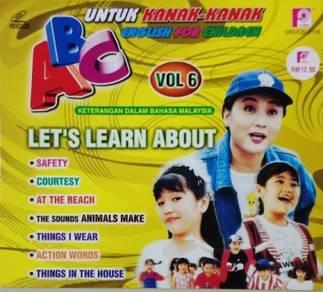 VCD ABC English For Children Untuk Kanak-kanak 6