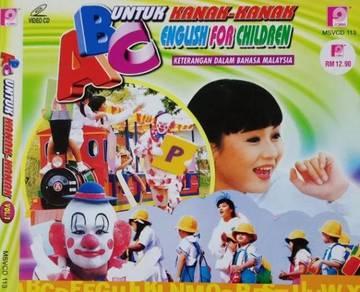 VCD ABC English For Children Untuk Kanak-kanak 1