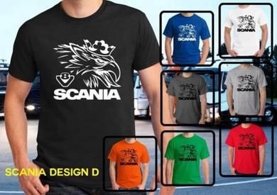 Baju T-Shirt SCANIA 6 NSQ297 siap poslaju