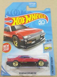 HotWheels '82 Nissan Skyline R30 Red US Card