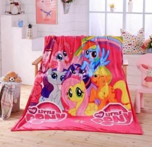 Little Pony Selimut Fleece Blanket Bigger 1.5X2M