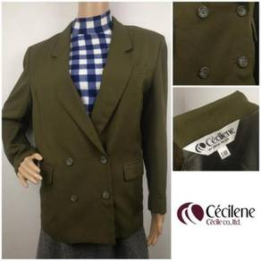 (M) CECILENE Double Breasted Blazer Jacket