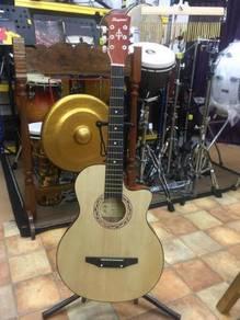 """Akustik Gitar Natural 38""""(Lanjian)"""