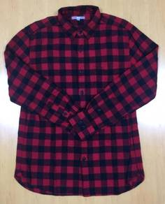 Uniqlo L/Sleeve Flannel Shirt #28 Used