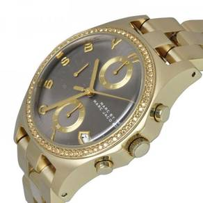 MARC JACOBS Henry Chronograph Grey Dial Gold