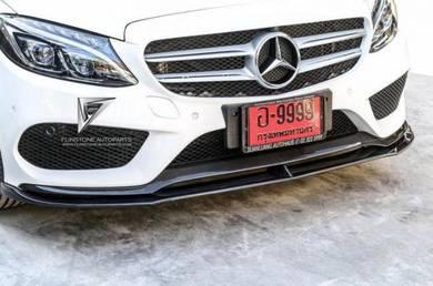 DTM Style Carbon Lip Mercedes C250 C300 W205 AMG