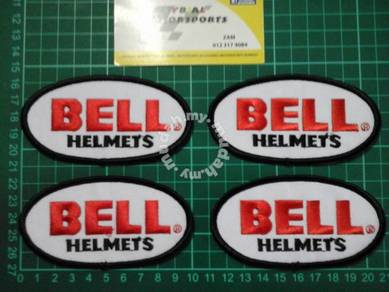 Patches bell helmet