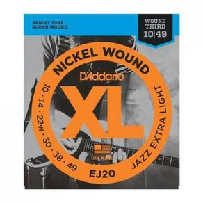 D'Addario EJ20 Nickel Wound Electric Guitar String