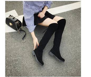 7934 Women High-heeled Casual Knee Boots (35,36)
