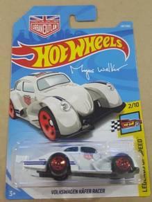 HotWheels Volkswagen Kafer Racer White 2018