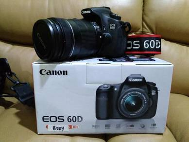 Canon EOS 60D with EFS 18-135 Lens