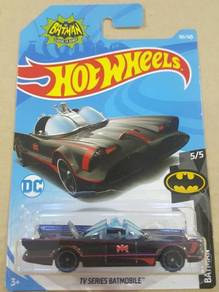 HotWheels TV Series Batmobile Matte Black 2018