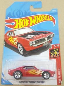 HotWheels Custom '67 Pontiac Firebird Red 2018