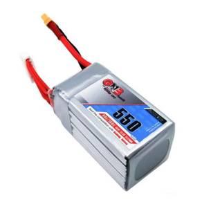 Gaoneng GNB 22.2V 550mAh 80C 6S Lipo Battery