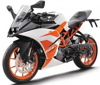 KTM RC200 (Bad payment record boleh apply)