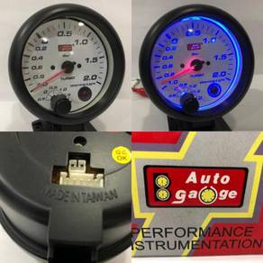 Auto Gauge 85mm Boost Meter Blue Led Taiwan