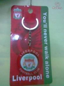 Liverpool FC 3-Layer Plastic Rotatable Key Chain