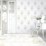 Nice consults Beauty light blue oval wallpaper