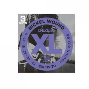 D'Addario EXL115 Nickel Wound Elec Guitar Strings