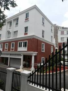 High end semi d 4 storey house at dutamas area