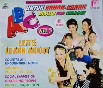 VCD ABC English For Children Untuk Kanak-kanak 7