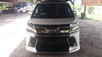 Toyota Vellfire Modellista Skirting(PP Material)