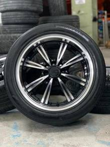 AD wheels 16 inch sports rim persona tyre 70%