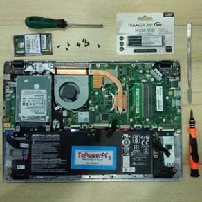 Servis Format Repair Laptop & PC Upgrade Gombak