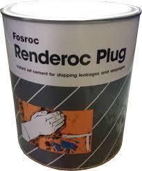 Fosroc renderoc plug