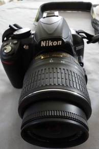 Camera nikon DSLR model D3100 Fullkit