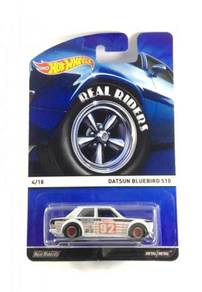 Hotwheels Heritage Datsun Bluebird 510 #4 White