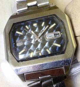 Jam Seiko 5 TV Japan 38 mm steel watch