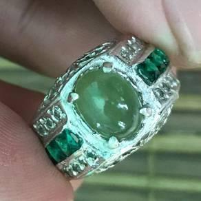 Cincin nilam hijau kod 09