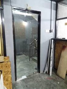 GLASS DOOR TEMPERED l thick glass 12mm