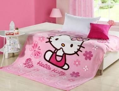 Hello Kitty Fleece Blanket Bigger [1.5X2M]