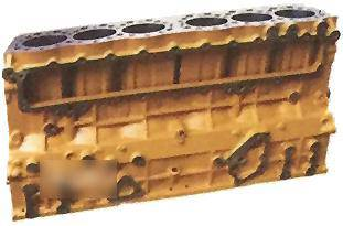 Genuine Brand New Cylinder Block-Excavator Part