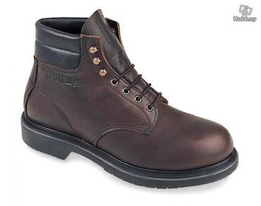 Safety Shoes Red Wing Men Mid 6Inch Brown ST 2245