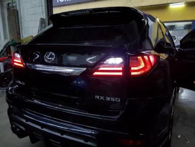 Lexus RX270 Rx350 facelift LED taillamp tail light