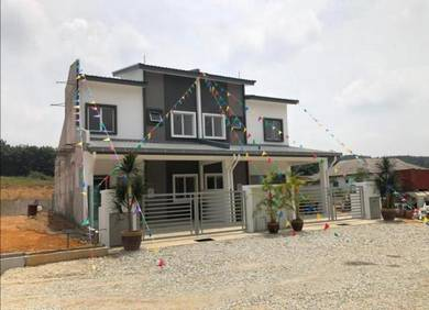 New Project Double Storey Salak Cemara Phase 2 Launch