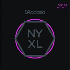 D'Addario NYXL0942 Nickel Wound, 09-42