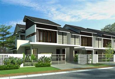 Ampang new launch 22x82 double storey house