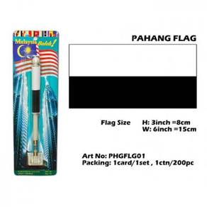 Pahang flag with spring