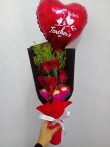 Fresh Flower Bouquet/Jambangan Bunga (N.Sembilan)
