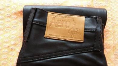 Aero Leather jeans horsehide - size 30 inch