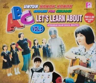 VCD ABC English For Children Untuk Kanak-kanak 5